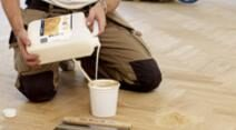 Gap filling & Finishing services provided by trained experts in West Kensington Floor Sanding